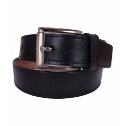 Revo Black Leather Belt