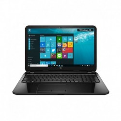 HP 15-AC167TU Notebook (P4Y38PA) (Intel Celeron- 2 GB RAM- 500 GB HDD- 39.62 cm (15.6)- Windows 10) (Black)