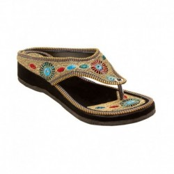 E-Handicrafts Multicolour Slip Ons