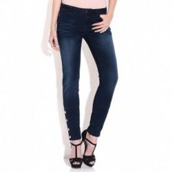Vero Moda Blue Poly Cotton Jeans