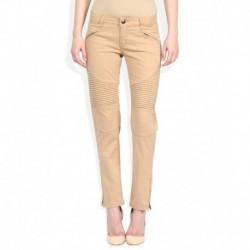 American Swan Khaki Slim Fit Trousers