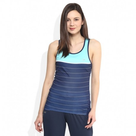 Proline Blue Round Neck Tank Top