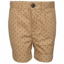 United Colors of Benetton Brown Printed Shorts