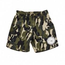 Gini & Jony Green Cotton Shorts