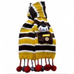 By Vikons Yellow Woolen Muffler For Kids