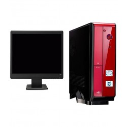 Shlr Pylon S5-2g Desktop Pc (3rd Gen I5/2gb Ddr3 Ram/500 Gb Hdd/46.99 cm (18.5) Monitor)