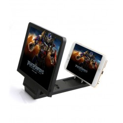 Jeetcon Mobile Phone Screen Magnifier For Smartphone - Black