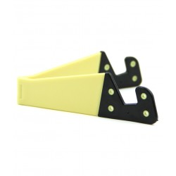 DOMO nHance T22 Universal Foldable Holder Stand for Smart Mobile Phones and Tablet PC - Yellow