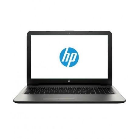 HP 15-AF006AX Laptop (AMD A8- 4GB RAM- 500GB HDD- 39.6 cm (15.6)- 2GB Graphics- DOS) (Silver)