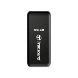 Transcend Multi Card Reader RDP5 - USB2.0 Black