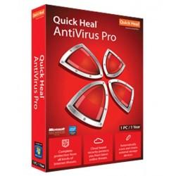 Quick Heal Antivirus Pro Latest Version 1 PC 1 Year