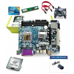 Zebronic Kit 1.1 Ghz Intel Core2Duo ,Motherboard ,Fan & 1GB Ram, Mouse