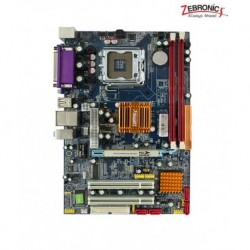 Zebronics G31-775 Socket MotherBoard with Lan + Sata