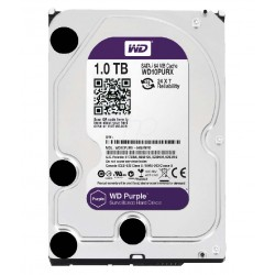 WESTERN DIGITAL 1TB Sata Survelliance HDD For DVR System (WD10PURX) - Purple
