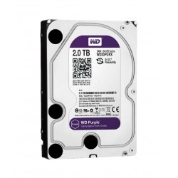 WESTERN DIGITAL  2 TB Hdd Surveillance Internal Hard Drive For Cctv And Dvr