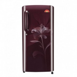 LG 190 LTR 5 Star GL-B201ASLN Direct Cool Refrigerator - Scarlet Lily