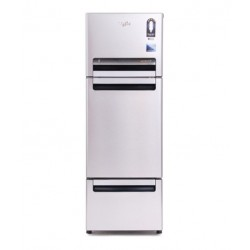 Whirlpool 240 LTR FP 263D Royal PROTTON Triple Door Refrigerator - Alpha Steel