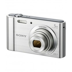 Sony Cybershot W800 20.1MP Digital Camera (Silver)