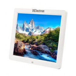 XElectron 12 inch Digital Photo Frame with Remote (White)
