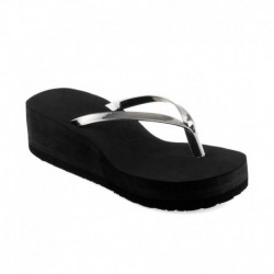 Shoe Lab Silver Platforms Heels