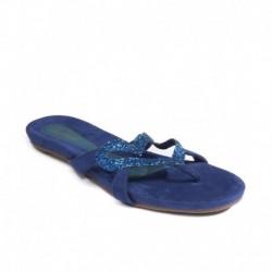 Catwalk Blue Flats