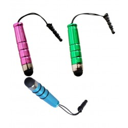 Gadget Deals Multicolor Mini Stylus Pen - Plug in Audio 3.5mm jack