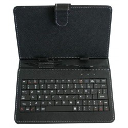 Colorkart 7 inch Flip cover Inbuilt Tablet Keyboard For HP 7 Voice Tab