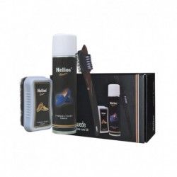 Helios Multicolour Nubuck and Suede Mega Shoe Care Kit