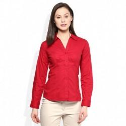 Wills Lifestyle Red Peruna Princess Core Shirt