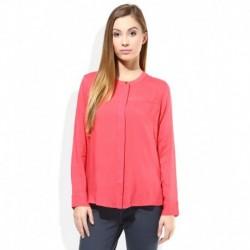 Lee Pink Round Neck Shirts