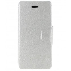 Molife Exclusive Diary Cover For InFocus M2 (White)