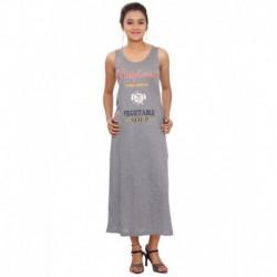 SML Originals Blue Poly Cotton Maxi Dress