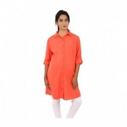 Liz Lange Orange Cotton Maternity