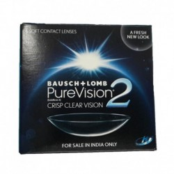 Bausch+Lomb Pure Vision 2 Monthly Disposable Contact Lens