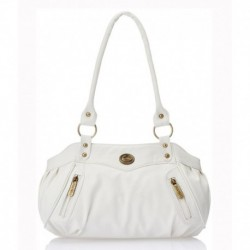 Fostelo White Shoulder Bag