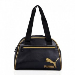 Puma Gold Black Handbag