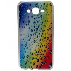 Kelpuj Printed Back Cover for Samsung Galaxy J7 -Multi Color