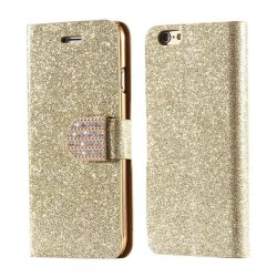Excelsior Wallet Cover For Apple iPhone 6 - Golden