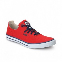 Puma Red Canvas Shoes