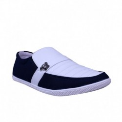 Anvi White Loafers