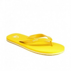 United Colors Of Benetton Yellow Flip Flops