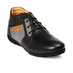 Red Chief Black Colour Boot