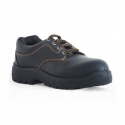 Tek-tron Atom Black Synthetic Safety Shoes