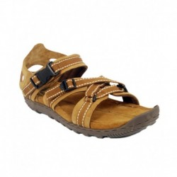 Woodland Camel Leather Sandals