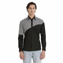 Baist Masters Black Cotton  Shirt
