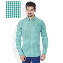 U.S. Polo Assn. Green Slim Fit Shirt