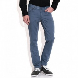 Cat Blue Cotton Chinos