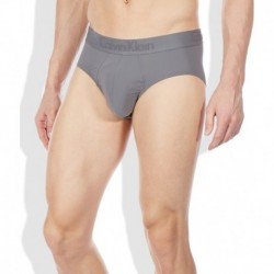 Calvin Klein Underwear Gray Cotton Blend Hip Brief