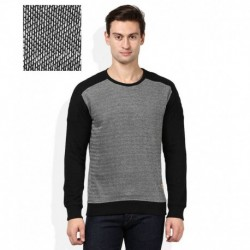 United Colors Of Benetton Grey Solid Sweatshirt