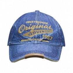 HoneyBadger Navy Cotton Baseball Cap